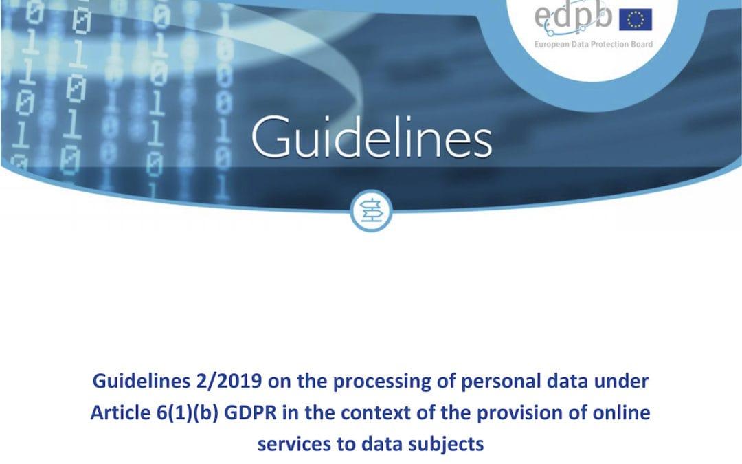 Hilfen zum Datenschutz bei Online-Dienstleistungen