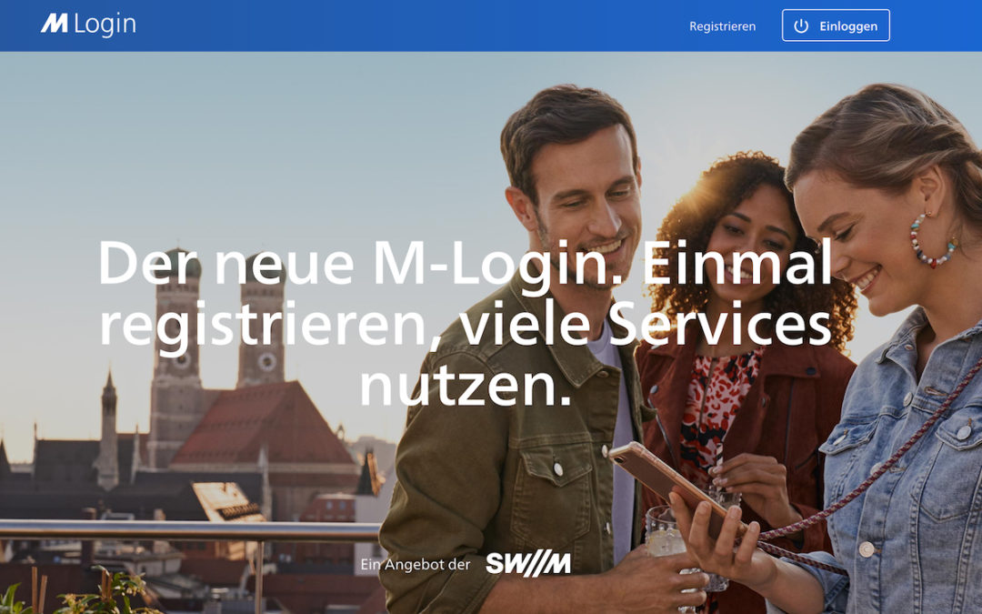 Stadt München zentralisiert digitale Dienste mit einem Login